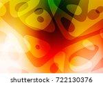light green  red vector natural ... | Shutterstock .eps vector #722130376