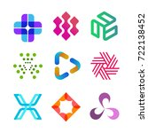 vector design elements for your ... | Shutterstock .eps vector #722138452
