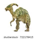 parasaurolophus living... | Shutterstock . vector #722178415