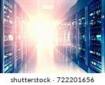 modern web network and internet ... | Shutterstock . vector #722201656