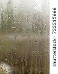 misted glass on the window as a ... | Shutterstock . vector #722215666