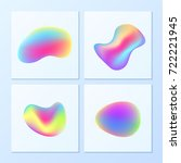 creative   vibrant gradients.... | Shutterstock .eps vector #722221945