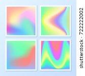 creative   vibrant gradients.... | Shutterstock .eps vector #722222002