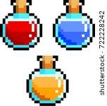 varieties of potions  red ...   Shutterstock .eps vector #722228242