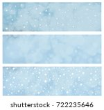 vector blue  stars  background  ... | Shutterstock .eps vector #722235646