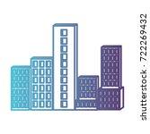 building set city gradient... | Shutterstock .eps vector #722269432