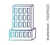 hotel building icon gradient