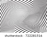 abstract twisted background.... | Shutterstock .eps vector #722281516