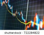 currency trading theme. stock... | Shutterstock . vector #722284822
