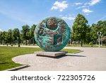 moscow  russia    june 1  2009  ...   Shutterstock . vector #722305726