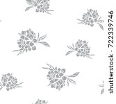 seamless pattern with image of... | Shutterstock .eps vector #722339746