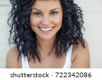 beautiful woman | Shutterstock . vector #722342086