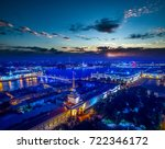 russia. view of the neva river... | Shutterstock . vector #722346172