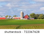 Red Barn  Outbuildings  Silo...