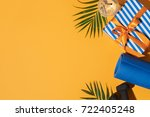 image of fitness equipment and...   Shutterstock . vector #722405248