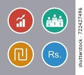 business icons set | Shutterstock .eps vector #722427496