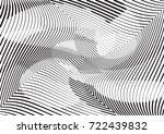 abstract twisted background.... | Shutterstock .eps vector #722439832