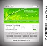 website of ecology  vector | Shutterstock .eps vector #72244129