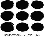 grunge shapes | Shutterstock .eps vector #722452168