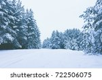 winter background  winter... | Shutterstock . vector #722506075
