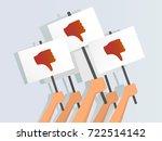 vector illustration of hands... | Shutterstock .eps vector #722514142