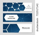 abstract vector layout... | Shutterstock .eps vector #722517142