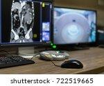 CT Scan Control Room, Medical concept