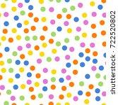 Colorful Polka Dots Seamless...