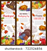 Thanksgiving Day Banners Set...