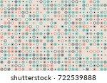 geometric pattern design  | Shutterstock .eps vector #722539888