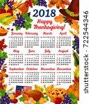 Thanksgiving Day 2018 Calendar...