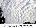 full daylight sky filled with... | Shutterstock . vector #722553178