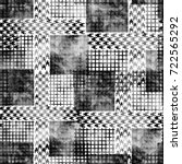 seamless pattern modern design. ... | Shutterstock . vector #722565292