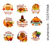 Thanksgiving Day Icons For...