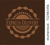 express delivery wooden...