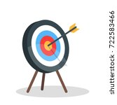 vector image of the arrow is... | Shutterstock .eps vector #722583466