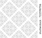 floral pattern. wallpaper... | Shutterstock .eps vector #722598706