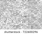 halftone black and white.... | Shutterstock .eps vector #722600296