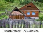 House In Russian Village Singl...