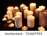 mourning and commemoration... | Shutterstock . vector #722607955