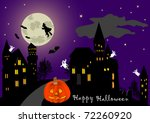 illustration on a theme of... | Shutterstock . vector #72260920