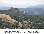 Small photo of The Hilly View South From San Anselmo