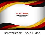 flag of germany background for... | Shutterstock .eps vector #722641366