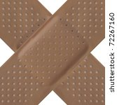 band aid adhesive bandage... | Shutterstock . vector #72267160