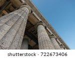 regensburg  germany   august 05 ... | Shutterstock . vector #722673406