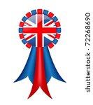 British Ribbon  With Gradient...