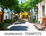 seville  spain   may 26  2014 ... | Shutterstock . vector #722687272
