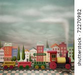 Imaginary Toy  Train  And The...