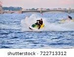 st.petersburg  russia   august... | Shutterstock . vector #722713312