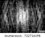halftone dots texture... | Shutterstock .eps vector #722716198